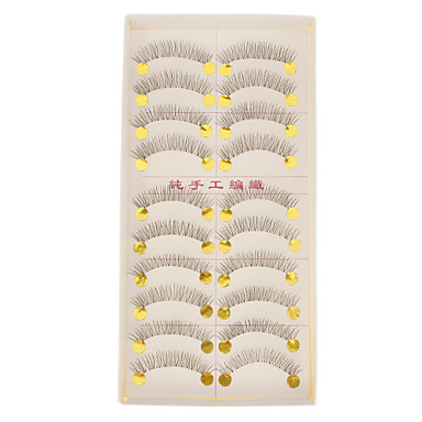 Transparent Base Hand-made False Upper Eyelashes 218 Cosmetic Beauty Care Makeup for Face