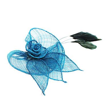 Krystall Stoff Tiaras Blumen 1 Hochzeit Party / Abend Normal Kopfschmuck
