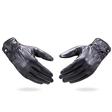 Leder Handgelenk-Länge Handschuh Party / Abendhandschuhe Winterhandschuhe Allzweck-Arbeitshandschuhe With Knöpfe