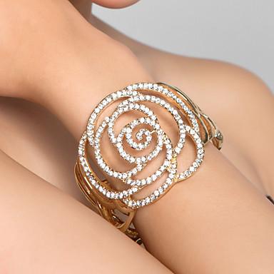 Damen - Breiter Armreif Gold Armbänder Für Hochzeit Party Besondere Anlässe