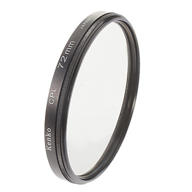 Kenko 72mm Slim CPL Circular Polarizing Filter