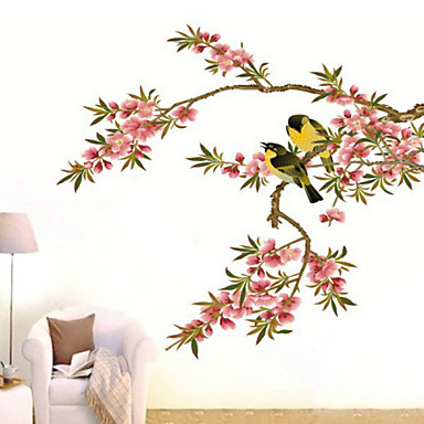 Decorative Wall Stickers - Plane Wall Stickers Botanical Bedroom / Dining Room