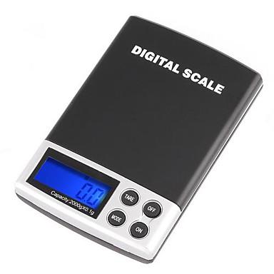 2000g/0.1g LCD Display Digtal Held-Skala
