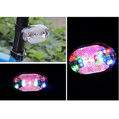 Lumini de Bicicletă Iluminat Bicicletă Spate LED Ciclism Lumină LED Baterii Cell Lumeni Baterie Ciclism - FJQXZ