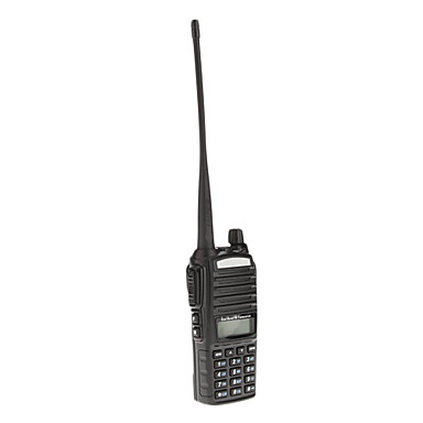 Baofeng UHF / VHF 400-480/136-174MHz 8W Dual Band ANI Cod DSP Two Way Radio Walkie Talkie interfon
