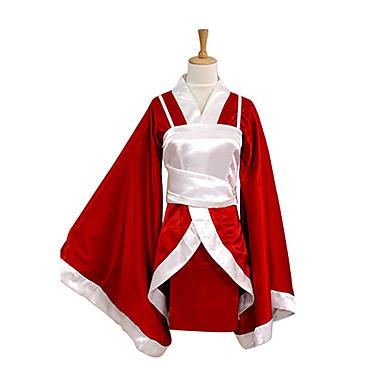 Inspirovaný LOL Akari Video Hra Cosplay kostýmy Cosplay šaty Kimono Patchwork Dlouhý rukáv Vesta Kimono
