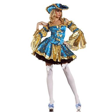 Pirat Costume Cosplay Costume petrecere Pentru femei Halloween Carnaval Festival / Sărbătoare Costume de Halloween Peteci