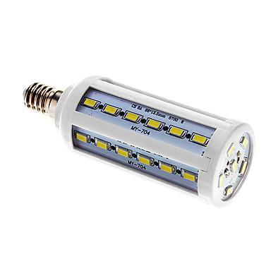 800 lm E14 LED corn žárovky T 42 lED diody SMD 5730 Chladná bílá AC 220-240V
