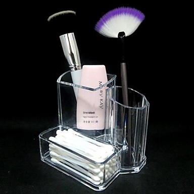 Ukládání make upu Kosmetická taška / Ukládání make upu Akrylát Jednobarevné 13.3x9.5x11.2cm