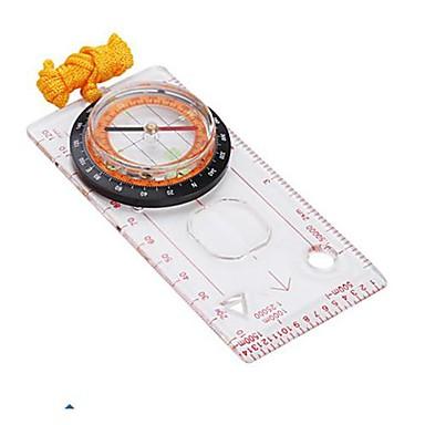 Professional Map Measure Compass with Pendant -Transparent