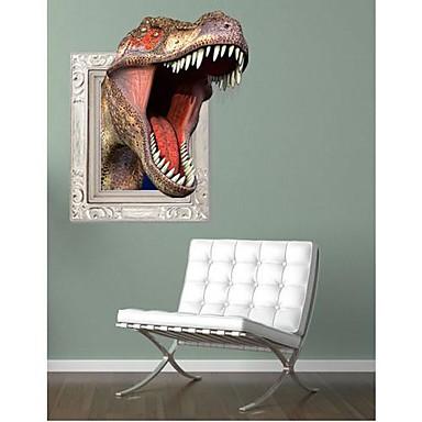 Dekorative Wand Sticker - 3D Wand Sticker Tiere / 3D Wohnzimmer / Schlafzimmer / Studierzimmer / Büro