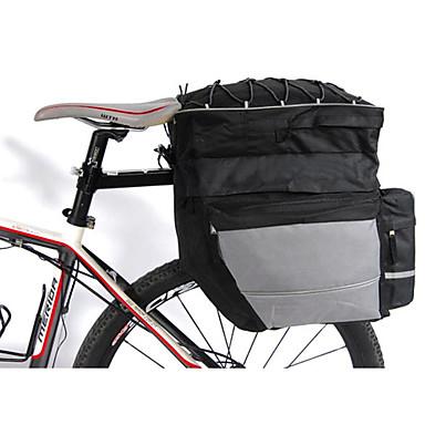 abordables Sacoches de Vélo-FJQXZ Sac de Porte-Bagage / Double Sacoche de Vélo 3 en 1 Etanche Séchage rapide Sac de Vélo Nylon Sac de Cyclisme Sacoche de Vélo Sport de détente Cyclisme / Vélo