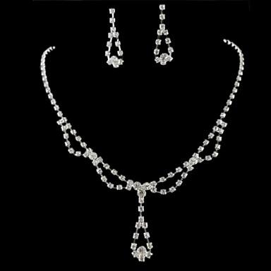 Šperky Náhrdelníky / Küpeler Svatební / Párty Slitina Dámské Stříbrná Svatební dary
