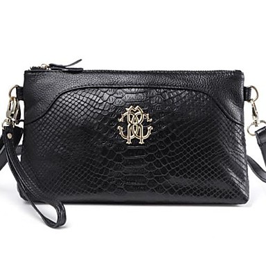 Women Cowhide Sports / Casual / Event/Party Shoulder Bag / Tote / Clutch / Evening Bag / Wallet / Coin Purse