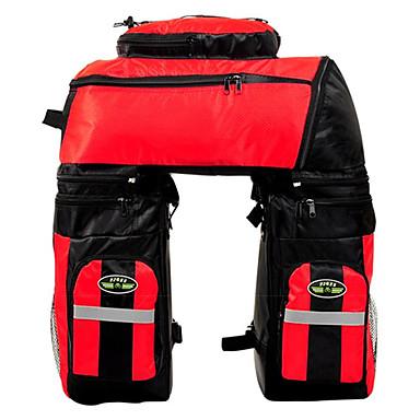 FJQXZ 70 L Fahrrad Kofferraum Tasche / Fahrradtasche 3 in 1, Wasserdicht, Einstellbar Fahrradtasche 1680D Polyester Tasche für das Rad Fahrradtasche Radsport / Fahhrad / Hohe Kapazität