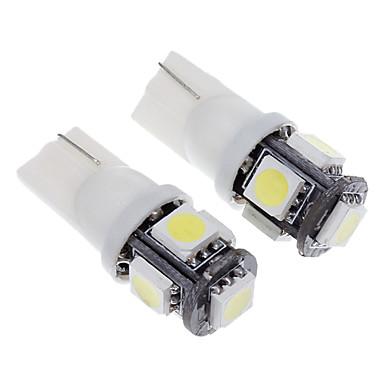 T10 Автомобиль Холодный белый 1,5 Вт 6000 Лампа подсвета приборной доски Лампа для чтения