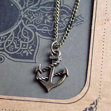 Others Anchor Unique Design Fashion Pendant Necklace Alloy Pendant Necklace , Party Gift Sports