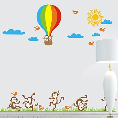 Frankie ™ DIY Decoratieve Stickers Cartoon Kinderen kan worden verwijderd