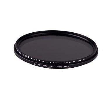 77mm Slim Fader ND variabilă Filtru ND2 reglabil pentru ND400 Neutral Density