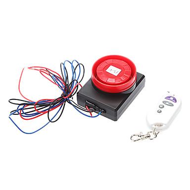 Motor Electric Induction Alarm, med Long Distance fjernbetjening