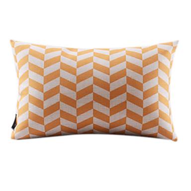 bomuld / sengetøj pudebetræk, geometrisk moderne / moderne land stil