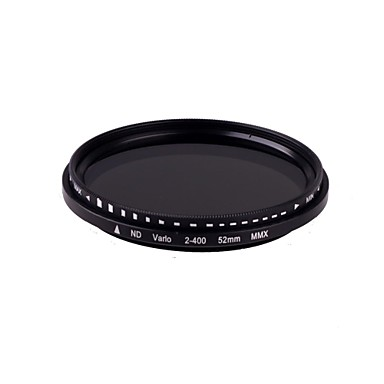 New Slim Fader Variable 52mm ND Filter Adjustable ND2 to ND400 Neutral Density High Quantity FREE SHIPPING