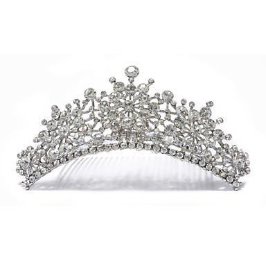 strass splash bruiloft tiara
