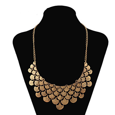 Γυναικεία Leaf Shape Κοσμήματα με στυλ Κολιέ Δήλωση Κολιέ Δήλωση , Πάρτι