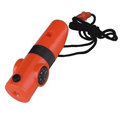 Survival Whistle Vandring Multi Function / Whistle Plastik Orange