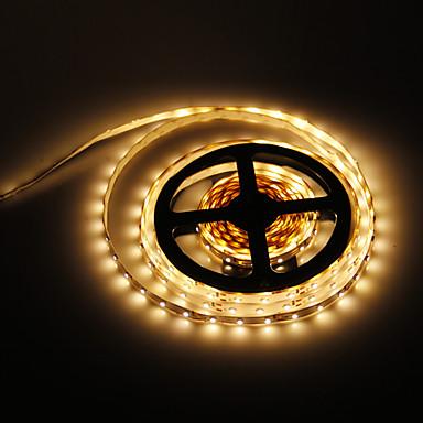 abordables Bandes Lumineuses LED-5m 300 LED 3528 SMD Blanc Chaud 12 V / IP44