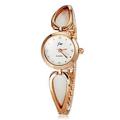 Women's Fashion Gold Steel Band Quartz Bracelet Watch (Assorted Colors) Cool Watches Unique Watches