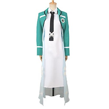 Inspired by The Irregular at Magic High School Cosplay Anime Cosplay Costumes Cosplay Suits Patchwork Long Sleeves Coat Dress Tie For