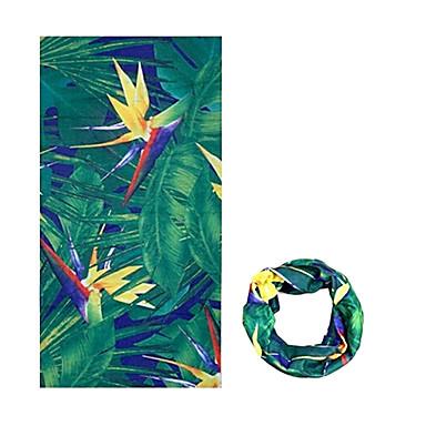 Klobouky Šátky do vlasů nákrčníky Kolo Prodyšné Větruvzdorné Odolný vůči UV záření Nositelný Proti sluci Dámské Pánské Unisex Zelená