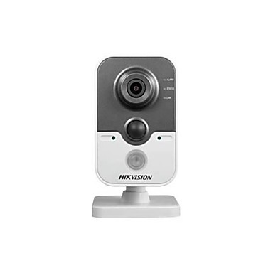 HIKVISION 3.0 MP Indendørs Dag Nat Bevægelsessensor PoE Dobbeltstrømspumpe Fjernadgang IR-klip) IP Camera