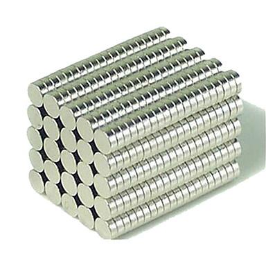 200 pcs 3*1mm Magnetspielsachen Bausteine Puzzle Würfel Neodym - Magnet Magnet Heimwerken Knopf Kinder / Erwachsene Jungen Mädchen Spielzeuge Geschenk