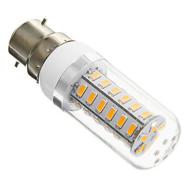 B22 LED Corn Lights T 42 SMD 5730 420 lm Warm White AC 220-240 V