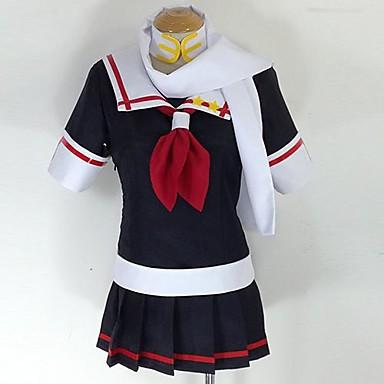 Kantai Collection Yudachi Kai Ni Cosplay Kostuum