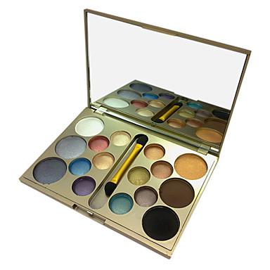 16 Øjenskyggepalette Øjenskygge palet Pudder Normal Rygende makeup / Daglig makeup