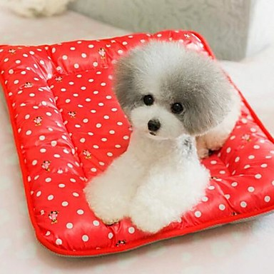 Bed Pet Mats & Pads Portable Red / Yellow Cotton