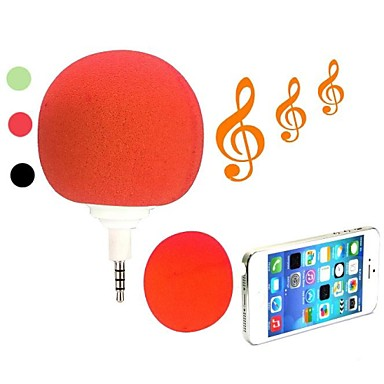 Cute Portable Mini 3.5mm Audio Jack Cool Music Ball Speaker Player Clear Sound Music(Assorted Colors)