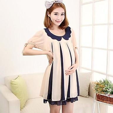 dc477d7563bd Premamá Moda maternidad vestido atractivo del verano vestidos de maternidad