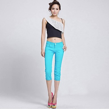Stretchy Skinny Pants, Sexy Spring Summer Fall