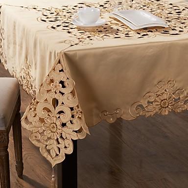 Linen / Cotton Blend Square Table Cloths