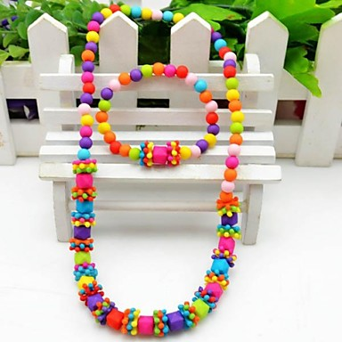 Jewelry-Necklaces / Bracelets & Bangles(Resin)Birthday / Engagement / Gift / Party Wedding Gifts