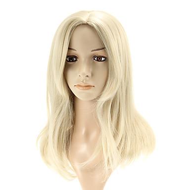 Synthetische Perücken Glatt Mit Pony Synthetische Haare 19 Zoll Mit Pony Perücke Damen