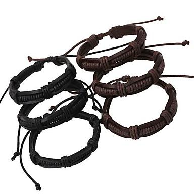 Heren Wikkelarmbanden Europees Leder Sieraden Voor Dagelijks