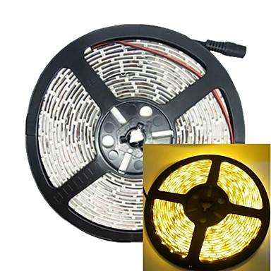 5m 30w 300led 3528smd 635-700nm DC12V IP68 waterdichte strook licht geel