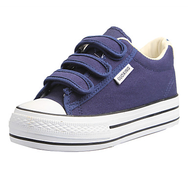 Women's Shoes Comfort Flat Heel Canvas Fashion Sneakers with Lace-up Shoes More Colors available