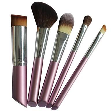 5 Stück Professional Makeup Bürsten Bürsten-Satz- Pony Bürste / Nylon Pinsel Mittelgroße Pinsel