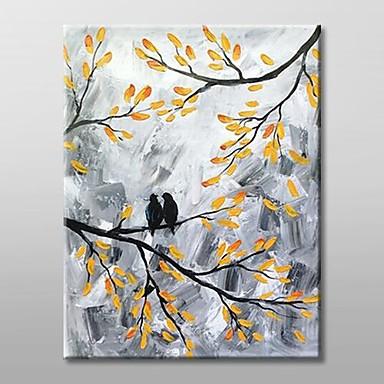 Hang-роспись маслом Ручная роспись - Пейзаж Современный холст